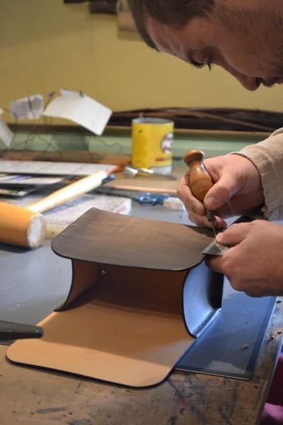 fabrication française cuir collonges