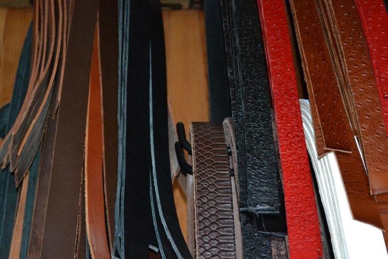 bandes cuir ceintures