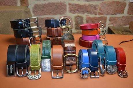 ceinture cuir artisanat