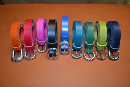 ceinture cuir artisanales