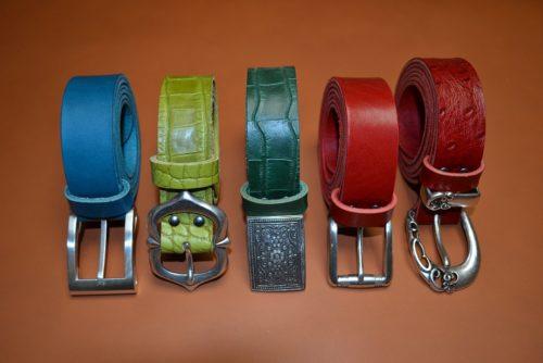 ceinture artisanales cuir