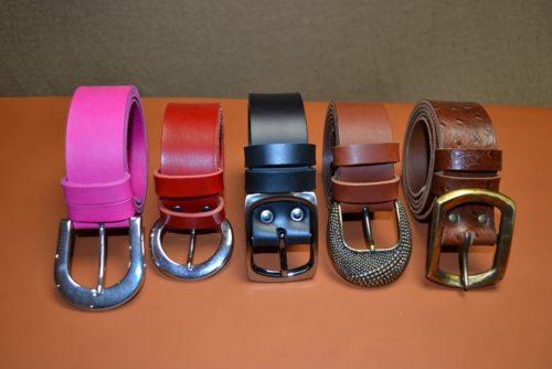 ceintures artisanales cuir