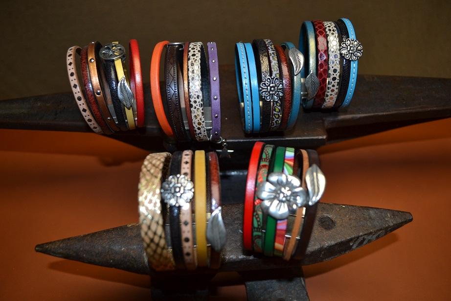 bracelet cuir artisanat