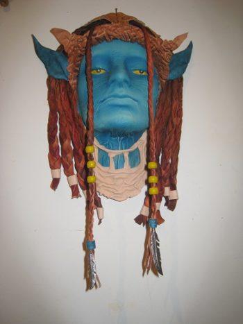 masque cuir avatar
